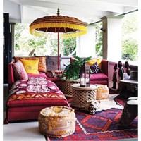 Bohem Stili Oturma Odaları