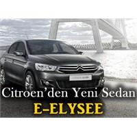 Citroen'nin Yeni Sedanı C-elysee