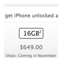 İphone 4s Amerika Unlocked Fiyatları Açıklandı