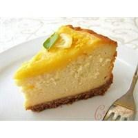 Limonlu Cheesecake Tarifimiz
