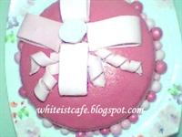 Şeker Hamurlu İlk Pastam... :)