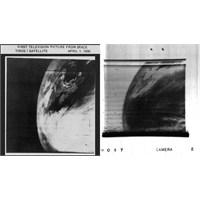 Tiros Uydusundan İlk Görüntüler 1960...