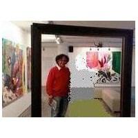Ressam Bedri Baykam'ın Boş Çerçevesi