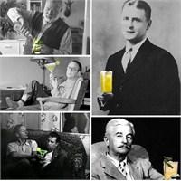 10 Ünlü Yazar Ve Kokteylleri