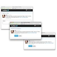 Twitter'dan Yeni Sosyal Web Eklentileri