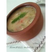 Domatesli Mantar Çorbası Yapımı