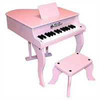 Schoenhut Fancy Baby Grand Piano – Pink