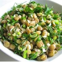 Tadına Doyum Olmayan Yeşil Mercimek Salatası