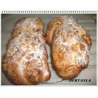 Portakallı Mahlepli Örgü Çörek