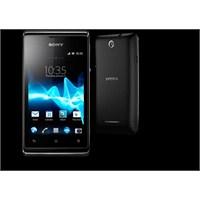 Sony Xperia E Ve Sony Xperia E Dual Tanıtıldı