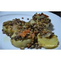 Fırında Mercimekli Patates