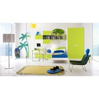 Renkli Genç Odası Modelleri