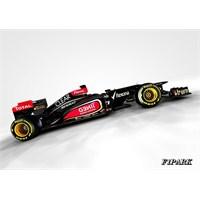 2013'ün İlk Aracı Lotus E21 Görücüye Çıktı