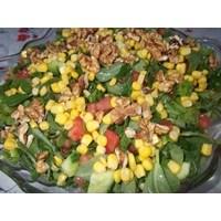 Cevizli- Mısırlı Semizotu Salatası