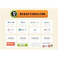 Addthis Paylaşım Butonlarını Blogger'a Eklemek