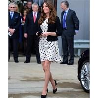 Kate Middleton: Topshop Puanlı Elbise