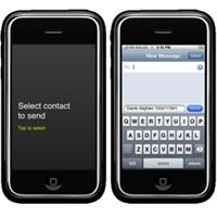 İphone Rehberdeki Kişi Numarasını Mesajla Gönderme