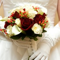 Kış Düğünlerine Kırmızı Güller!