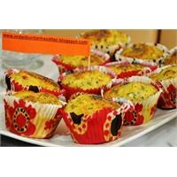Sebzeli Dereotlu Muffin