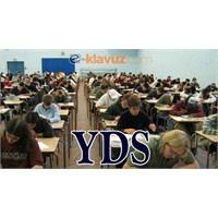 Yds Sonbahar Dönemi Sınava Giriş Belgeleri 2013