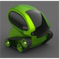 İphone Ve Android Uzaktan Kontrollü Sevimli Robot