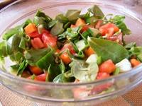 Semizotlu Domates Salatası