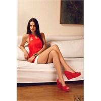 En Seksi Kırmızı Topuklu Ayakkabılar