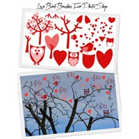 Aşk Kuşları Fırça Seti Photo Shop...