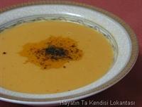 Sütlü Kırmızı Mercimek Çorbası