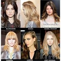 2012-2013 Sonbahar/kış Saç Trendleri