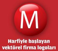 M Harfiyle Başlayan Vektörel Logolar