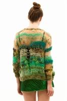 Modacılardan Farklı Tasarımlı Şık Örgü Hırka Model