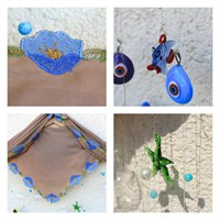 Diy; El Yapımı Duvar Süsü / Diy; Handmade...