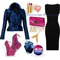 Siyah Elbiseyle Farklı Kombinler -4