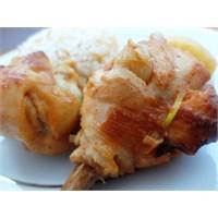 Fırında Sarımsaklı Tavuk Butları