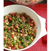 Gavurdağı Salatası Yapılışı