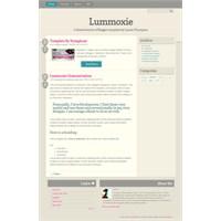Blogger Templates Nymphont Şablonlar -4