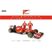 Ferrari F14 T'yi Basına Tanıttı