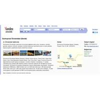 Yandex, Üniversite Rehberi Hizmetini Güncellendi.