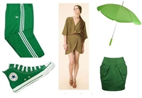 2010 Sezonu Modanın Büyüsü Yeşilde Saklı