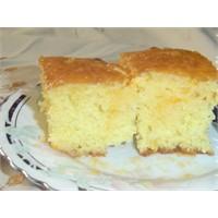Portakal Glazürlü Kek Tarifi
