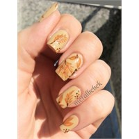 Autumn / Leaf Nail Art