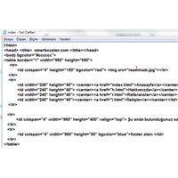 Sadece Not Defteri İle Web Site Yapımı – Videolu