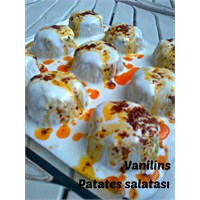 Patates Salatası (Tereyağ Sosuyla)