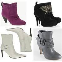 Bayan Kısa Çizme Modelleri