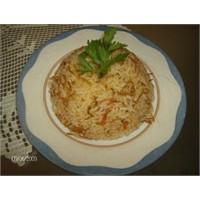 Domatesli Pirinç Pilavi