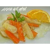 Bugünün Yemeği: Zeytinyağlı Portakallı Kereviz