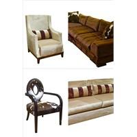 Oturma Odaları İçin Koltuk Takımı Modelleri