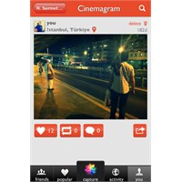 Cinemagram - Mobil Uygulama
