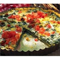 İspanaklı Pizza Tarifi